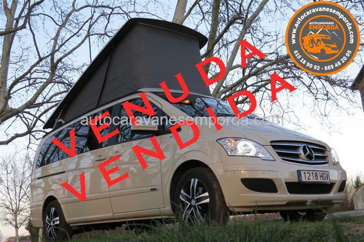 Autocaravana Camper Mercedes Viano Marco Polo EN VENTA